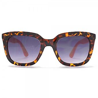 Miss KG D Frame Sunglasses In Tortoiseshell & Peach