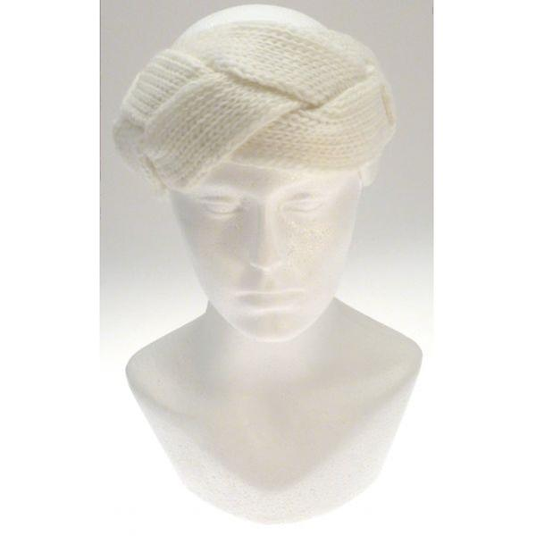W.A.T Cream Knitted Cable Headband