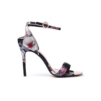 Women's Microbep Floral Sandals - Black Chelsea
