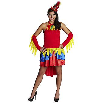 Costumes femme perroquet Sexy robe