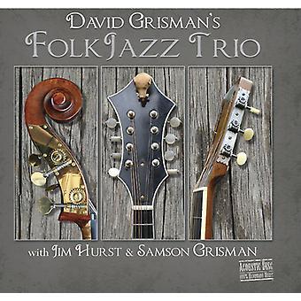 Grisman * David / Hurst * Jim / Grisman * Sam - David Grisman folkemusik Jazz Trio [CD] USA import