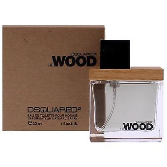 Dsquared He Wood Edt Vapo 30 Ml (Homme , Parfums , Parfums)