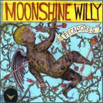 Moonshine Willy - Pecadores [CD] USA importerer
