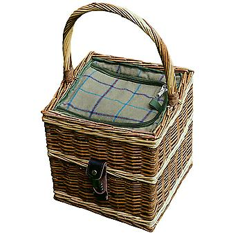 Beaufort Wicker Picnic Basket with Fitted Cooler