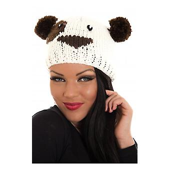 The Fashion Bible Whiteteddy Bear Hat