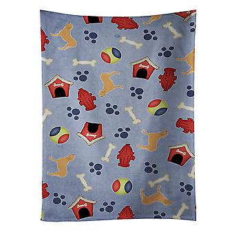 Fila Brasileiro Dog House Collection Kitchen Towel