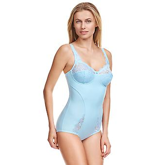 Susa 6538-286 Women's Latina Sky Blue Non-Padded Non-Wired All in One Body