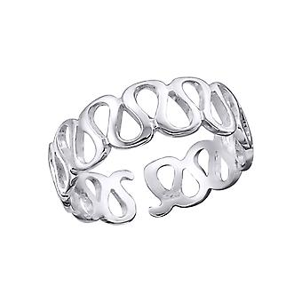 Wave - 925 Sterling Silver Toe Rings