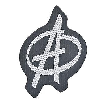 Anarchie Symbol gewebten Patch
