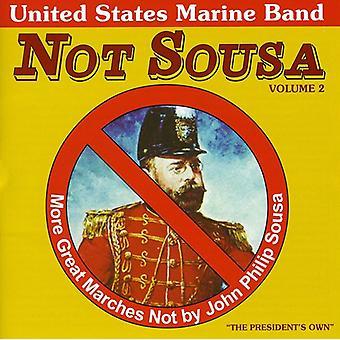 US Marine Band - ikke Sousa, Vol. 2 [CD] USA import