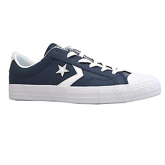 Converse Mens Shoe Star Player Ox 159781 Navy/White