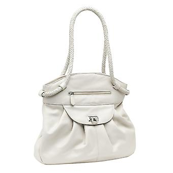 Burgmeister ladies handbag T218-115B leather creme