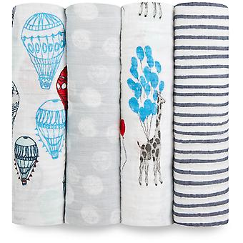 Aden + anais classico Swaddle 4 Pack