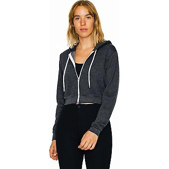 American Apparel Womens/Ladies Flex Fleece Polycotton Crop Hoodie