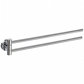 Home Swing Arm Towel Rail - Polished Chrome HK326