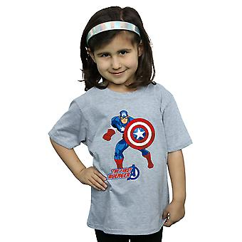 Marvel Girls Captain America The First Avenger T-Shirt