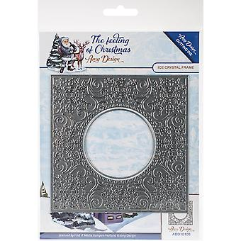 Find It Trading Amy Design The Feeling Of Christmas Die-Ice Crystal Frame