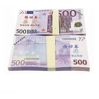 Play money-500 Euro (100 banknotes)