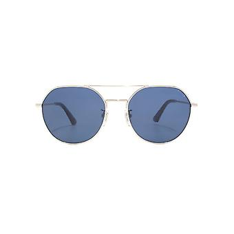 Police Highway Two 5 Sunglasses In Shiny Palladium Blue