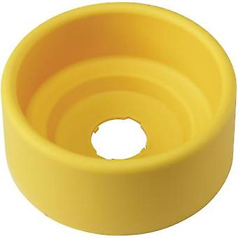 Protective collar round (Ø x H) 90 mm x 36.5 mm Yellow DECA A29Z-KG2 1 pc(s)