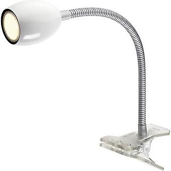 LED clip lamp 1.5 W EEC: LED (A++ - E) Warm white NOMWH-01 NOMWH-01 White