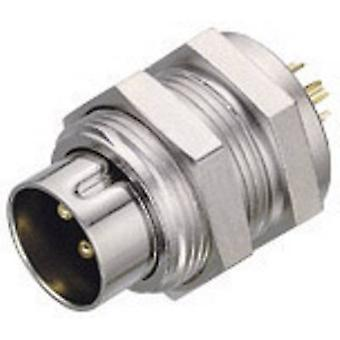 Binder 09-0081-00-04 Sub-micro Circular Connector Nominal current (details): 3 A