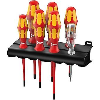 VDE Screwdriver set 7-piece Wera 160 iS/7 Slot, Phillips, Pozidriv