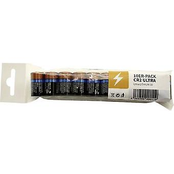 Camera battery CR2 Lithium Duracell Ultra DCR2