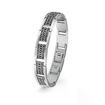 s.Oliver jewel mens bracelet stainless steel 2022639