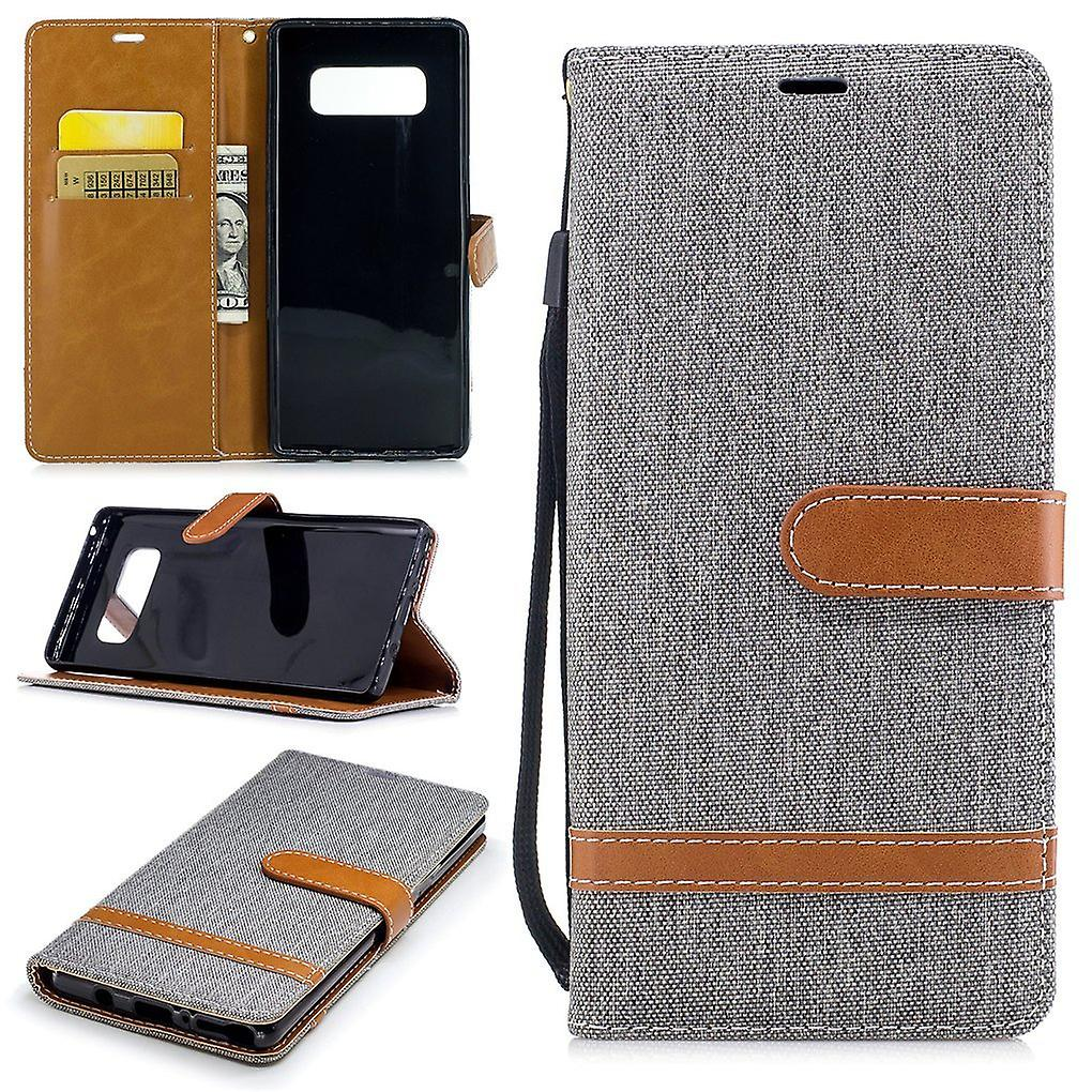 Case for Samsung Galaxy touch 8 jeans cover phone protective cover case grey