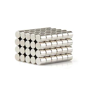 Neodymowy magnes 10 x 10 mm cyferblat N35 - 25 sztuk