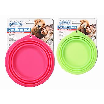Pawise Foldable Silicone Feeder 1000 ml (Dogs , Bowls, Feeders & Water Dispensers)