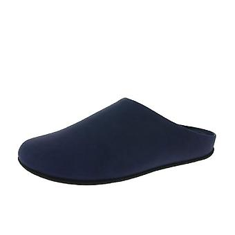 Mens FitFlop Shove Mule Leather Slippers