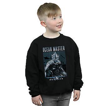 DC Comics jungen Aquaman Ocean Master Sweatshirt