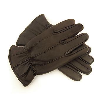 Mens thermische ausgekleidet superweiche feine Lederhandschuhe warmen Winterkleid