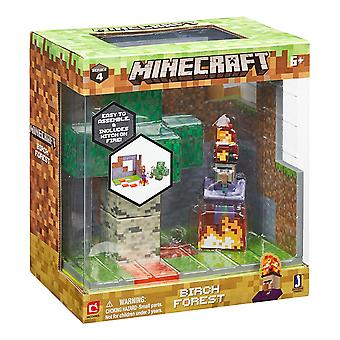Minecraft Birch Forest Biome play sets Action Figure Set Series 4