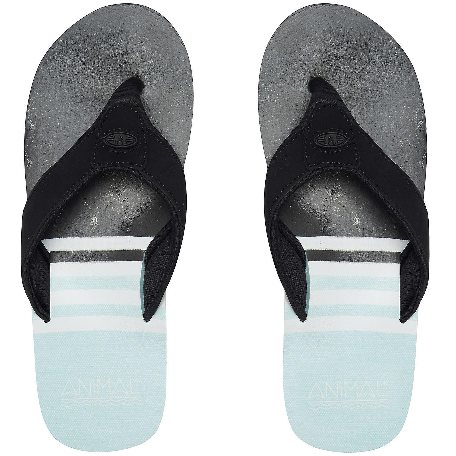 Animal Mens Jekyl Swim Summer Beach Holiday Thongs Sandals Flip Flops