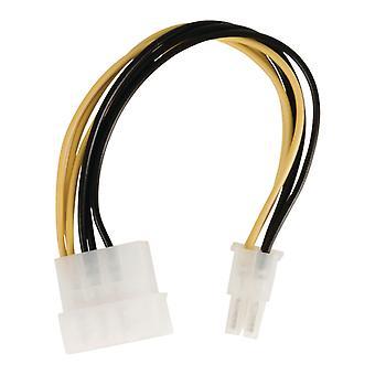 Valueline VLCP74060V015 Interne Stroom Adapterkabel Molex Mannelijk - Pci Express Mannelijk 0,15 M