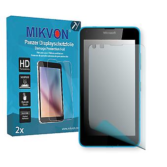 Microsoft Lumia 640 Screen Protector - Mikvon Armor Screen Protector (Retail Package with accessories)