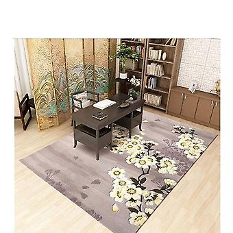 100% Wool Carpets For Bedroom Study  Rugs European Style Area Rug Home Carpet Floor Door Mat Delicate Matsw