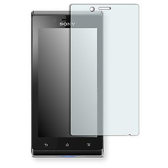 Sony Xperia ST26a screen protector - Golebo crystal clear protection film