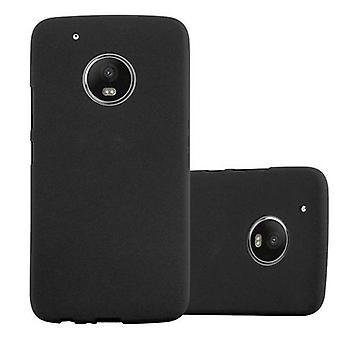 Cadorabo case for Motorola MOTO G5 PLUS - mobile case TPU silicone mats frosted design - silicone case cover ultra slim soft back cover case bumper