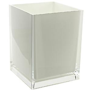 Gedy Rainbow Waste Basket Bin White RA09 02