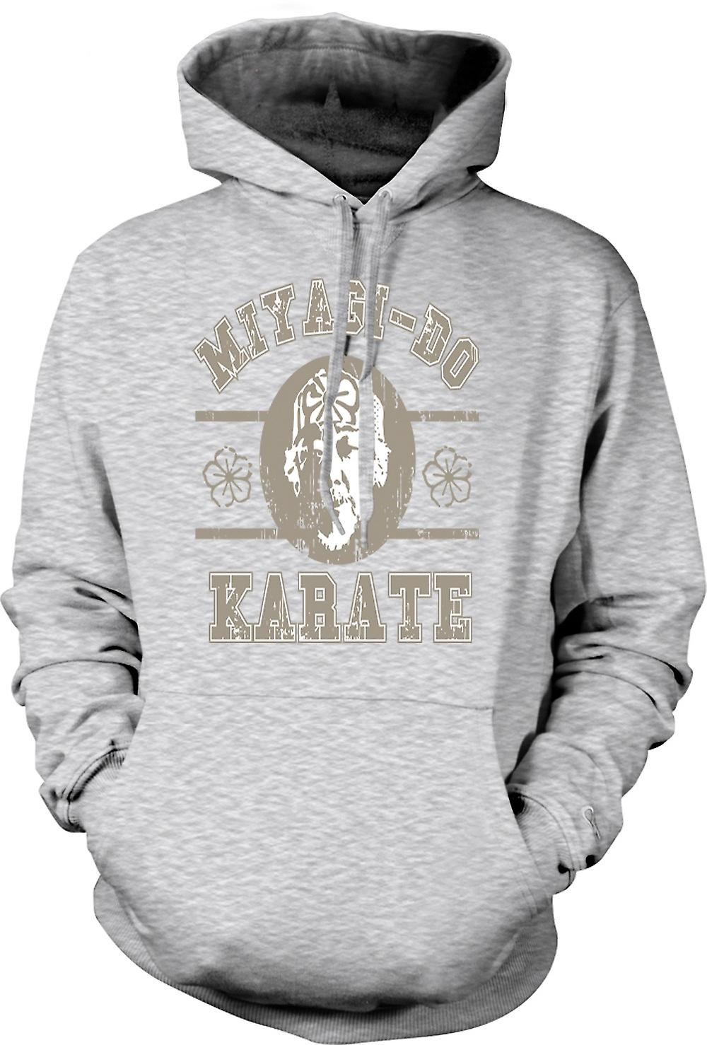 Mens Hoodie - herr Miyagi - Karate Kid - film