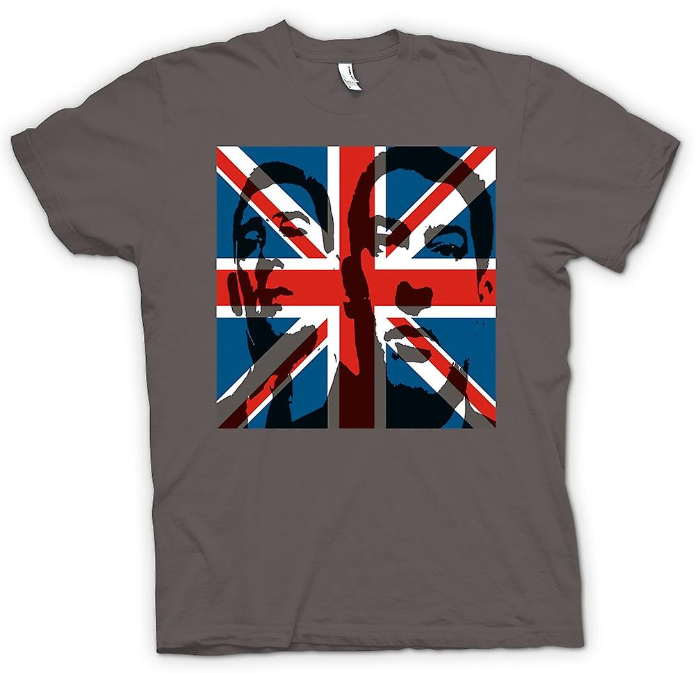 Womens T-shirt - kraj Union Jack - Gangster