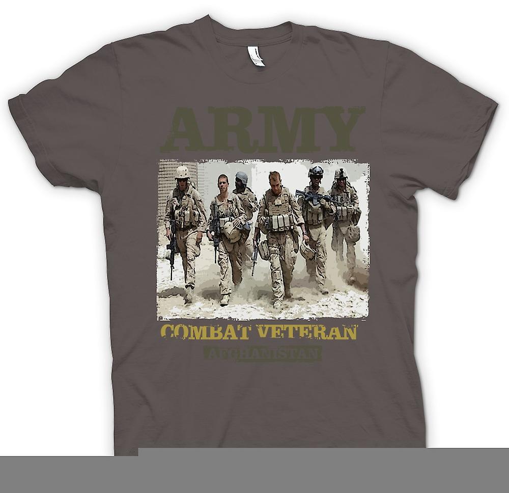 Womens T-shirt - Army Combat Veteran - Afghanistan