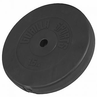 Poids disque en plastique de 7,5 kg