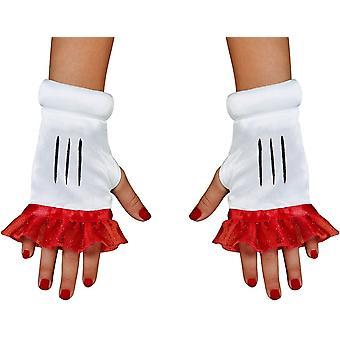 Red Minnie Adult Glovettes
