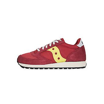Saucony Saucony Red & Yellow Jazz Original Vintage Sneaker