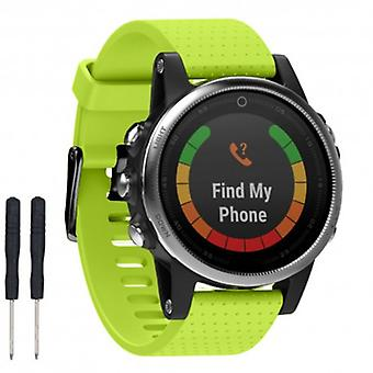 Sports armband Garmin Fenix 5s-Lime